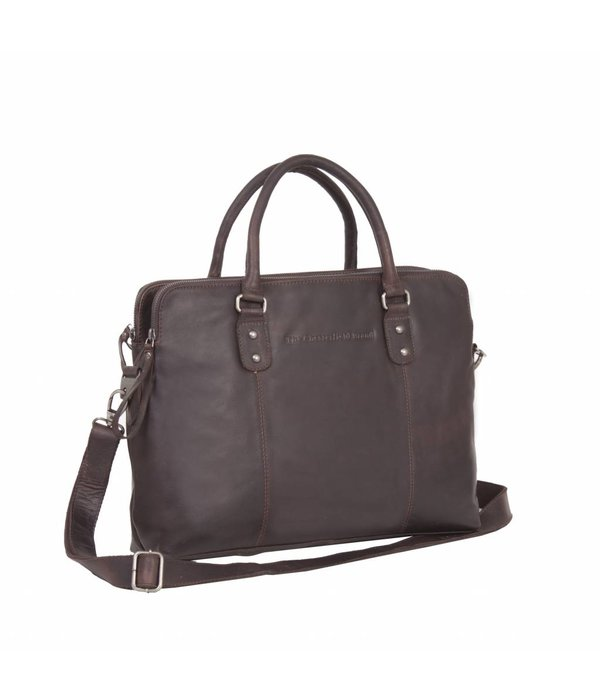 The Chesterfield Brand Casual Shoulderbag - brown