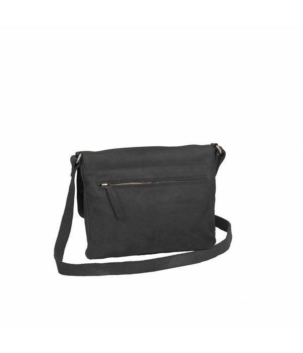 The Chesterfield Brand Shoulderbag Victoria - Zwart