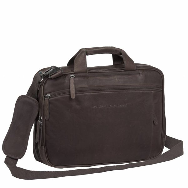 Shoulderbag George - Bruin