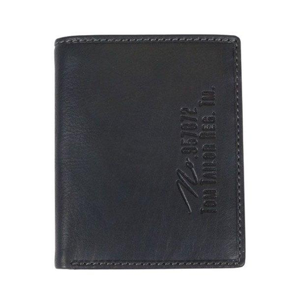 Gary portemonnee verticaal - zwart