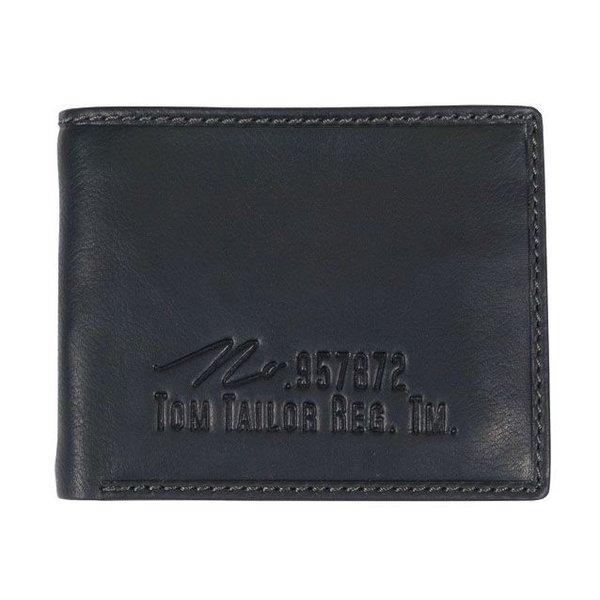 kleine Gary portemonnee - zwart