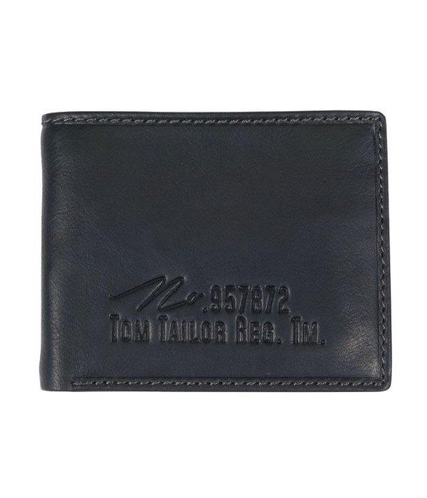 Tom Tailor kleine Gary portemonnee - zwart