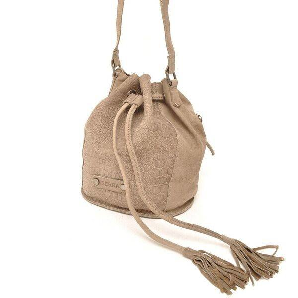 Sierra Small Bucket Bag Taupe