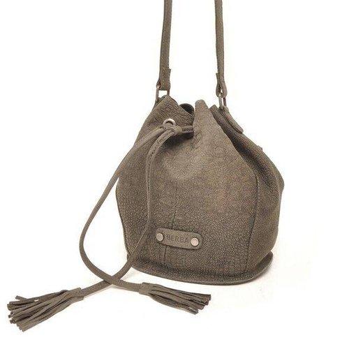 Berba Sierra Small Bucket Bag Donker Grijs