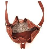 Berba Sierra Small Bucket Bag Bordeaux