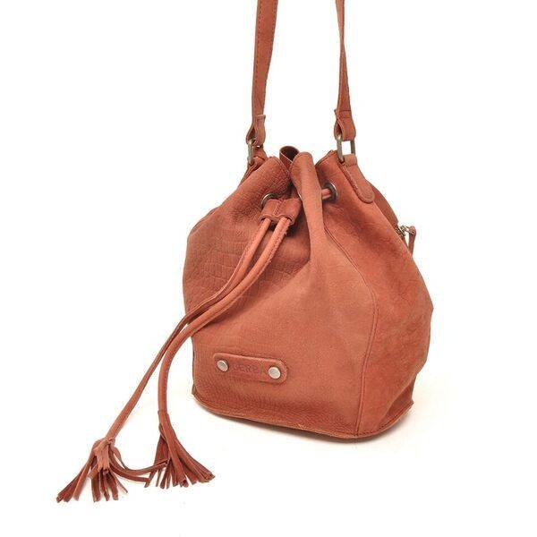 Sierra Small Bucket Bag Bordeaux