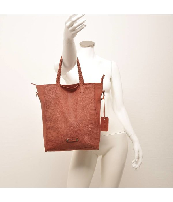 Berba Sierra Shopper Bric (Bordeaux)