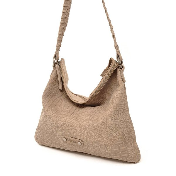 Sierra Flat Shoulderbag Taupe