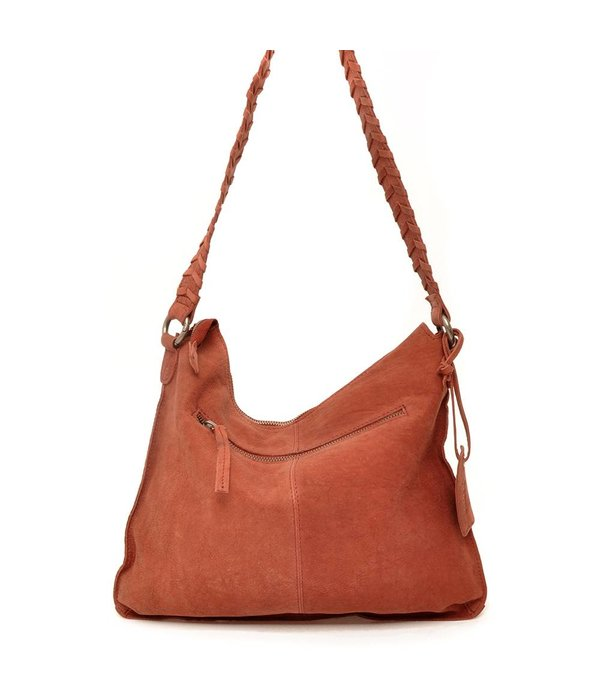 Berba Sierra Flat Shoulderbag Bric (Bordeaux)
