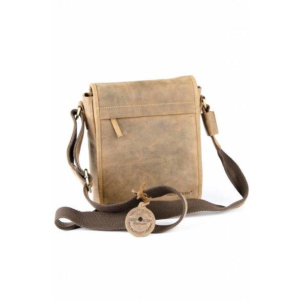 Vintage bruine schoudertas