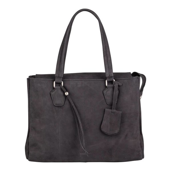 stacey star handbag big - Zwart