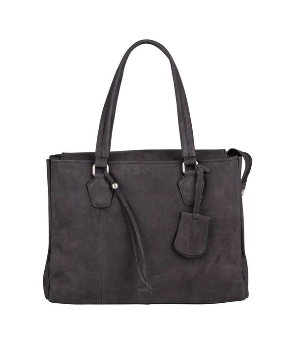 Burkely stacey star handbag big - Zwart