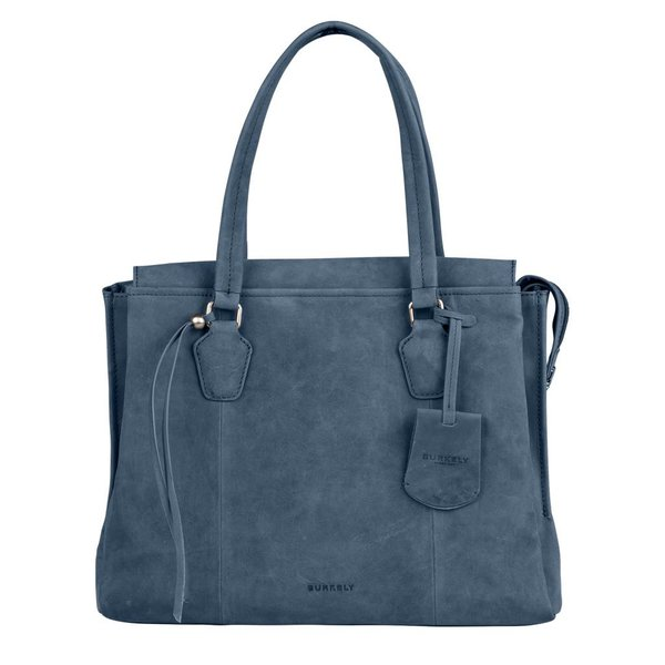 stacey star handbag big - Blauw