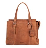Burkely stacey star handbag big - Cognac