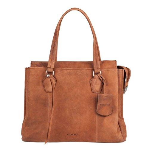 Burkely stacey star handbag big - Cognac