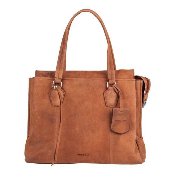 stacey star handbag big - Cognac
