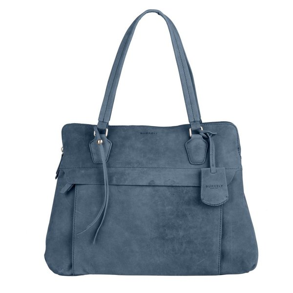stacey star laptop bag - Blauw