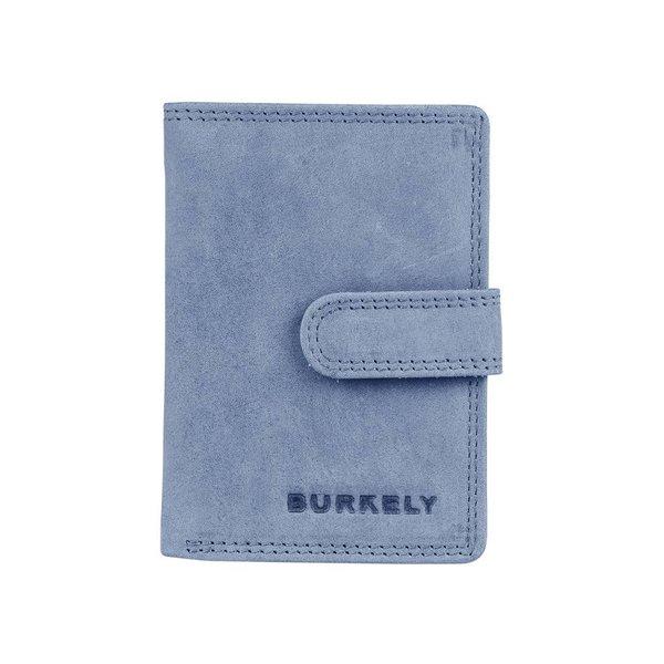 J Waxy wallet L - Blauw