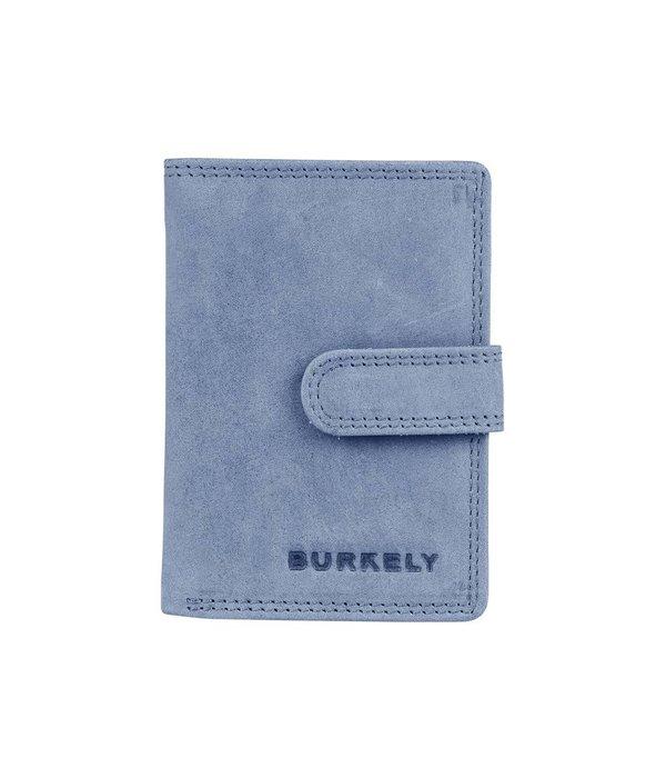 Burkely J Waxy wallet L - Blauw