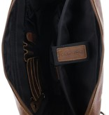 Plevier Laptoptas 17.3 inch van Plevier - Cognac