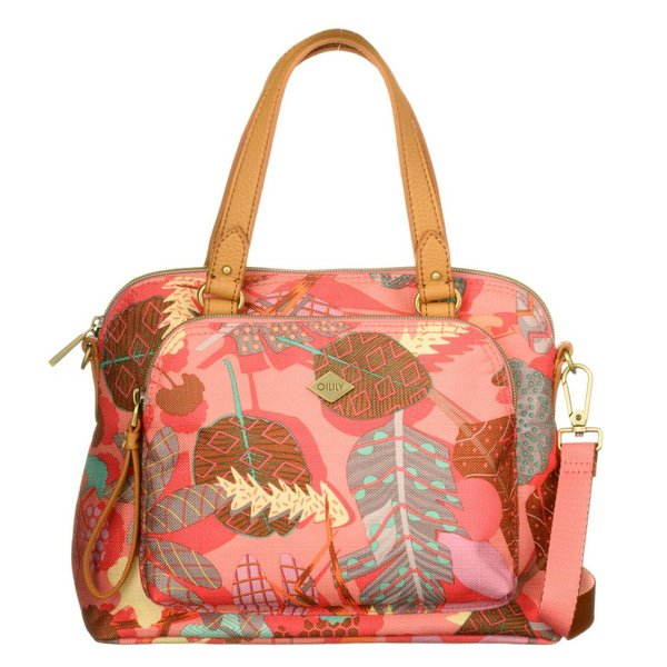 S Handbag Pink Flamingo