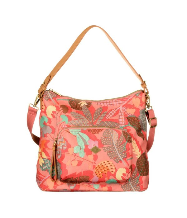 Oilily M Shoulder Bag Pink Flamingo