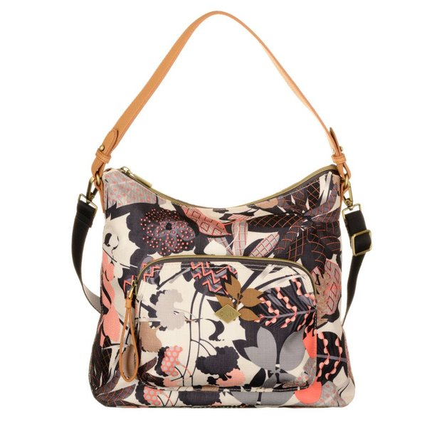 M Shoulder Bag Botanic Charcoal