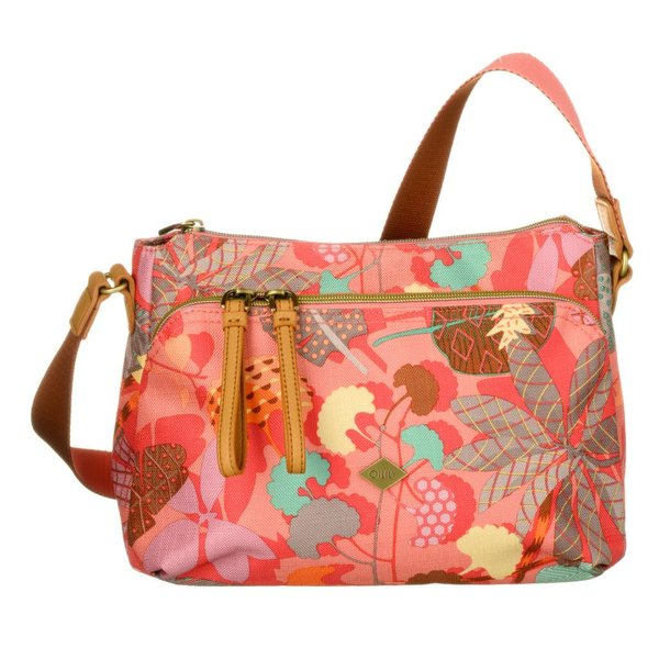 S Shoulder Bag Pink Flamingo