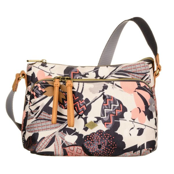 S Shoulder Bag Botanic Charcoal