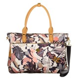 Oilily Office Bag Botanic Charcoal