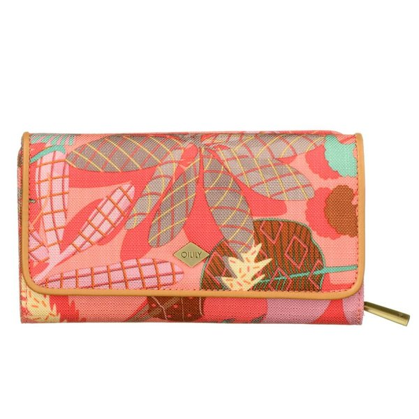 L Wallet Pink Flamingo