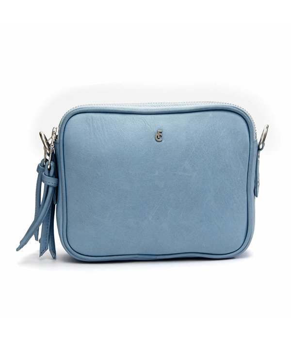 Fabienne Chapot LE CAVE CLUTCH - Nordic blue sun