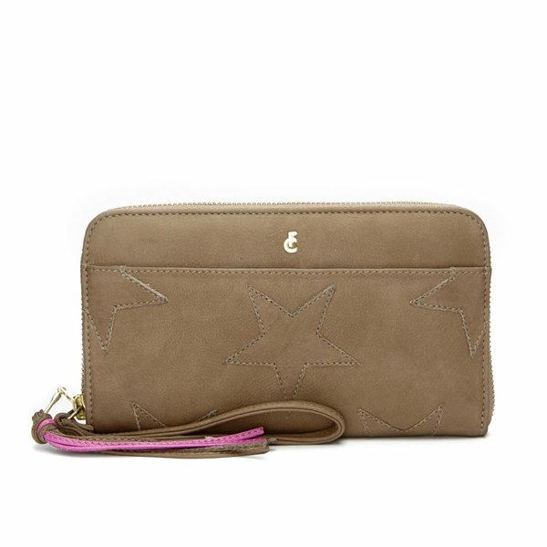 STAR PURSE - Dallas Taupe
