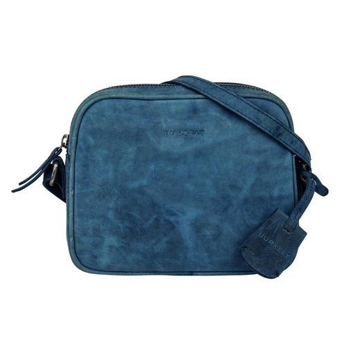 Burkely STACEY STAR SMALL X-OVER - BLAUW