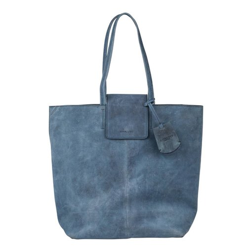 Burkely STACEY STAR SHOPPER - BLAUW