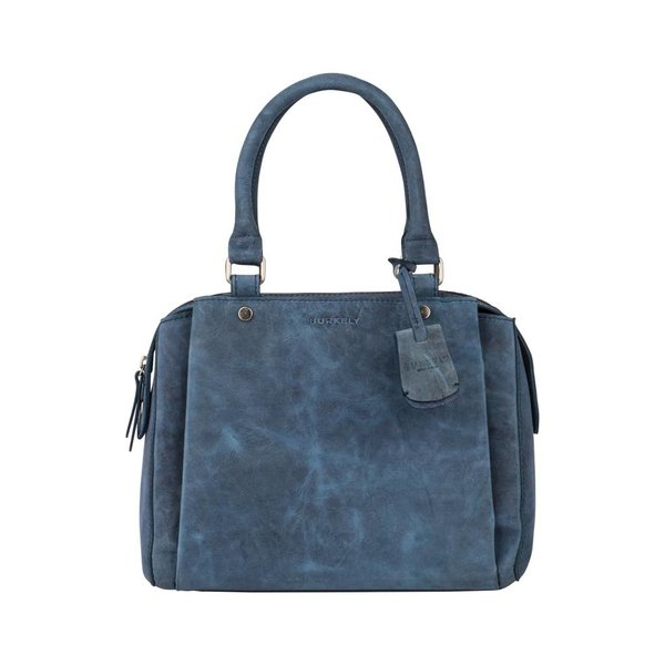 STACEY STAR CITYBAG - BLAUW