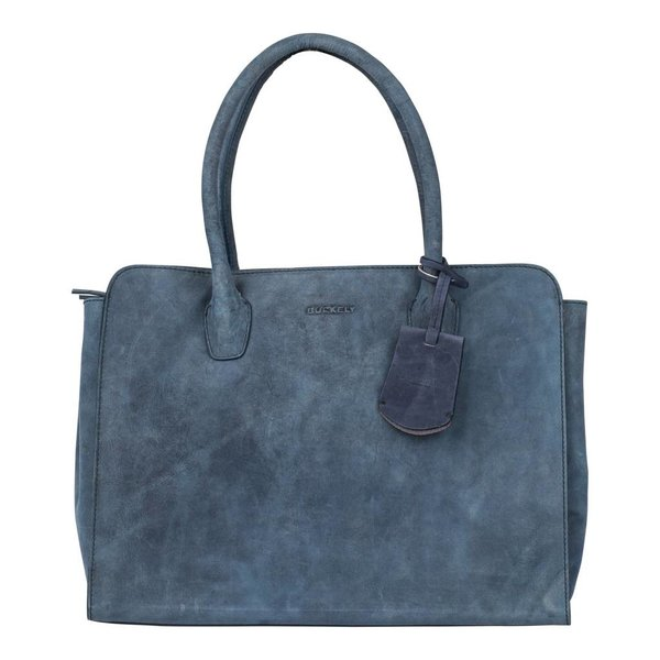 STACEY STAR HANDBAG M - BLAUW