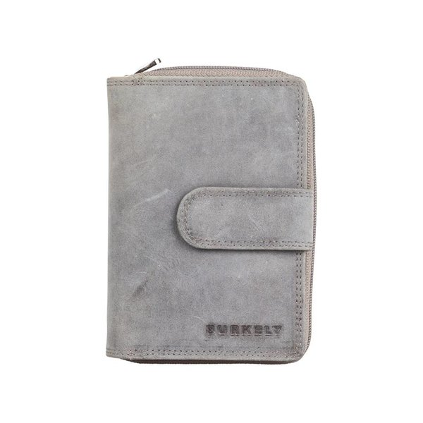 J WAXY WALLET M - Grey