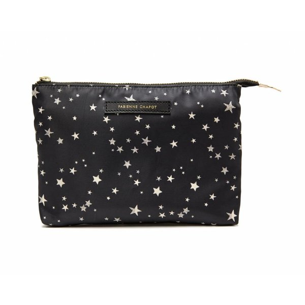 CRUISE TOILETRY BAG - BLACK WHITE STARS