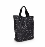 Fabienne Chapot CRUISE SHOPPER BAG - BLACK WHITE STARS