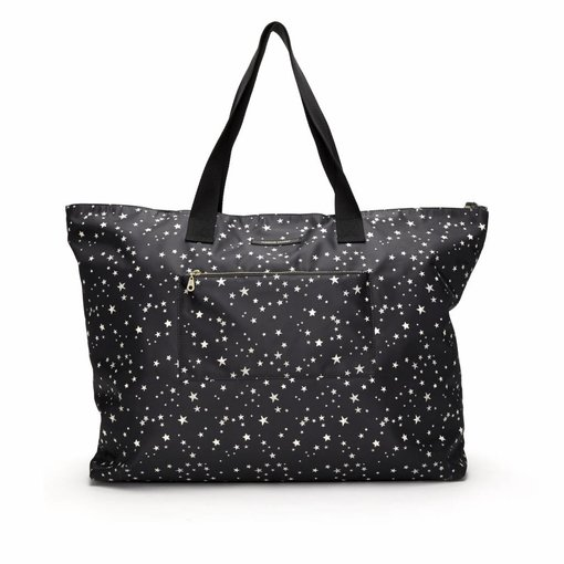Fabienne Chapot CRUISE WEEKENDER BAG - BLACK WHITE STARS