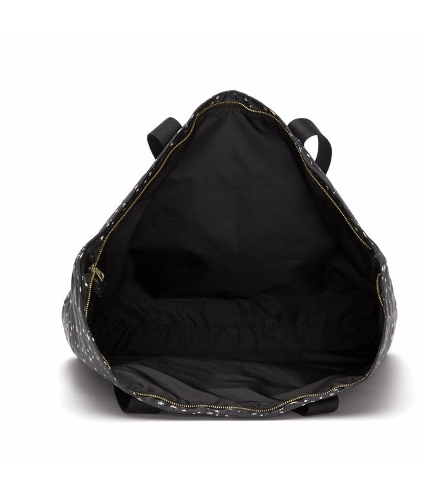 Fabienne Chapot CRUISE WEEKENDER BAG - BLACK WHITE STARS