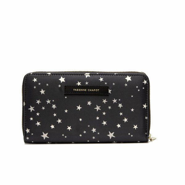 CRUISE FC PURSE - BLACK WHITE STARS
