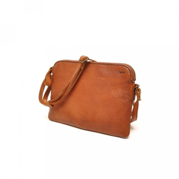 LADIES BAG SION - COGNAC