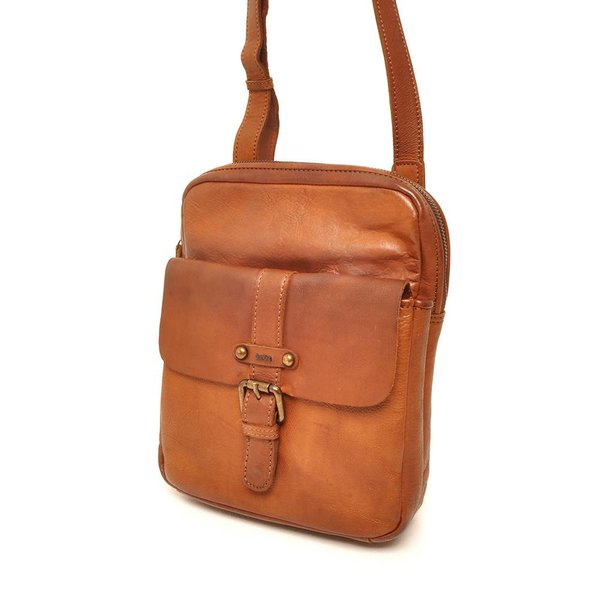 SMALL BAG SION - COGNAC