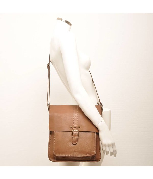 Berba MESSENGER BAG SION - TAUPE