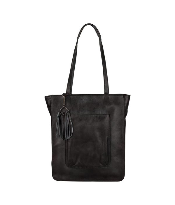 Burkely Noble Nova Shopper - Zwart