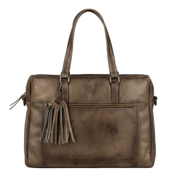 Noble Nova Laptopbag - Taupe