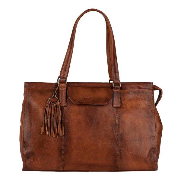 Noble Nova Handbag Big - Bruin