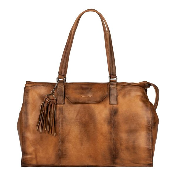 Noble Nova Handbag Big - Cognac
